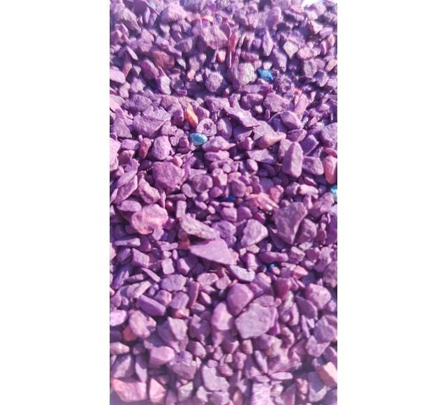 Barevná drť fialová 2-5 mm