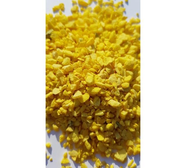 Barevná drť žlutá 2-5 mm