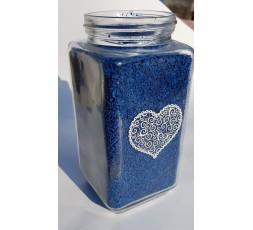 Barevná drť modrá 2-5 mm