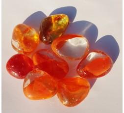 Duhové sklo -Oranžové
