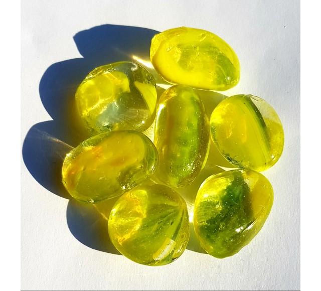 Duhové sklo - Žluté