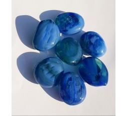 Duhové sklo - Modré
