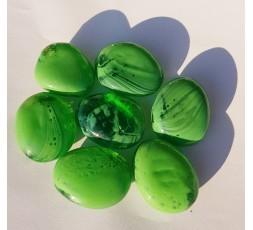 Duhové sklo - Zelené