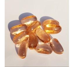 Skleněné kameny oranžová