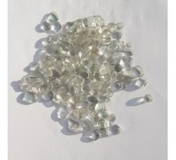 skleněné kameny mini- čiré