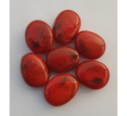 Duhové sklo - červené