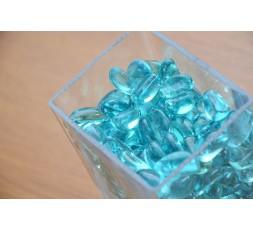 Skleněné kameny světle modrá