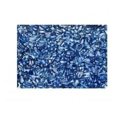 Skleněné kameny tmavě modrá