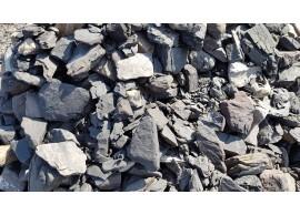 Třízený praný haldový kámen